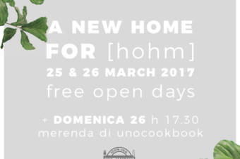 INAUGURAZIONE NEW HOME FOR [HOHM]