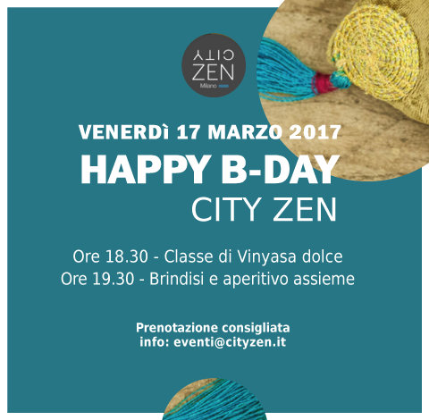 HAPPY B-DAY CITY ZEN